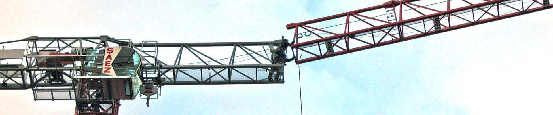 Tower Crane Productivity : Tower cranes luffer and self erecting for